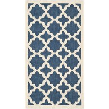 Isidora Navy Indoor/Outdoor Area Rug
