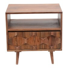 Deepwell 1 Drawer Nightstand