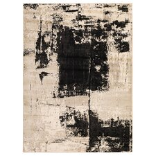 Juliana Coal Black Area Rug