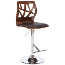 Figuaro Adjustable Height Swivel Bar Stool