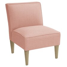 Carniny Linen Slipper Chair
