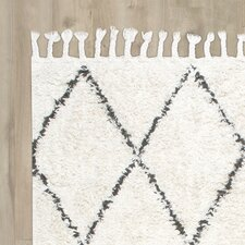 Twinar Hand Knotted  Black Area Rug