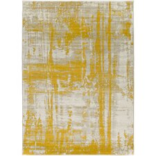 Dahl Light Gray/Gold Area Rug