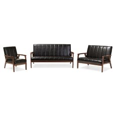 Ingmar 3-Piece Sofa Set
