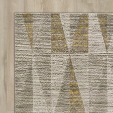Lundgren Light Gray/Gold Area Rug