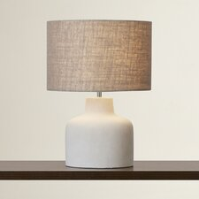 "La Merced 17"" H Table Lamp with Drum Shade"