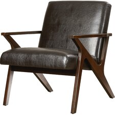 Shankill Faux Leather Arm Chair