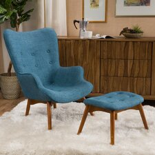 Canyon Vista Mid-Century Accent Chair Set