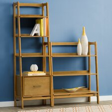 "Easmor 70.25"" Etagere Bookcase"