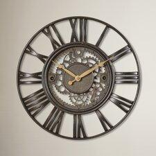 "15"" Roman Gear Wall Clock"