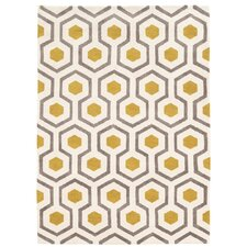 Noam Hand-Tufted Beige/Gray/Yellow Area Rug