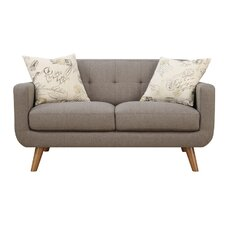 Burton Loveseat with 2 Accent Pillows