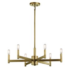 Gavin 6 Light Candle Chandelier