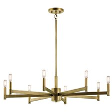Gavin 8 Light Candle Chandelier