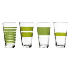 4-tlg. Longdrinkglas-Set