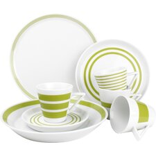 Stripes 20 Piece Dinnerware Set