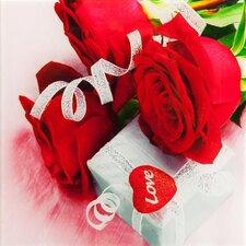 Leinwandbild Roses, Fotodruck