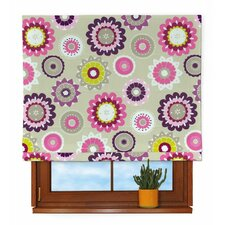 Flower Capri Roman Blind