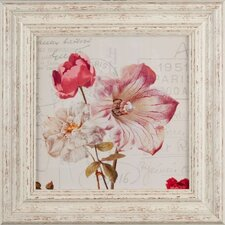 Gerahmter Kunstdruck Flowers From Paris I