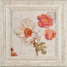 Gerahmter Kunstdruck Flowers From Paris II