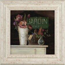 Gerahmter Kunstdruck Jardin