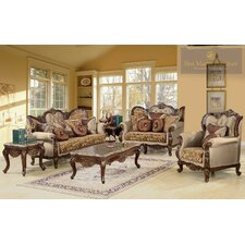 Jenna 3 Piece Traditional Living Room Set