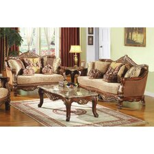 2 Piece Traditional Living Room Set