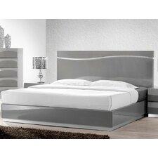 Leon Gray Platform Bed