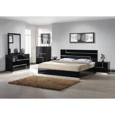 Barcelona Platform 5 Piece Bedroom Set