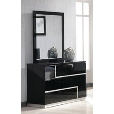 Barcelona 3 Drawer Dresser with Mirror
