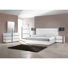Seville Platform 5 Piece Bedroom Set