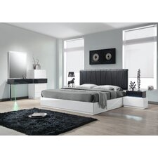 Ireland Platform 5 Piece Bedroom Set