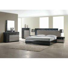 Romania  Platform 5 Piece Bedroom Set