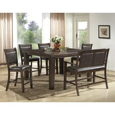 6 Piece Counter Height Pub Table Set