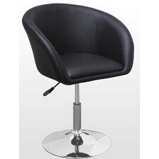 Adjustable Swivel Coffee Arm Chair