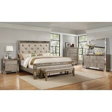 Ava Panel Customizable Bedroom Set