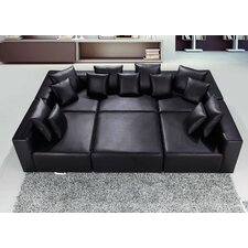 Leather Modular Sectional
