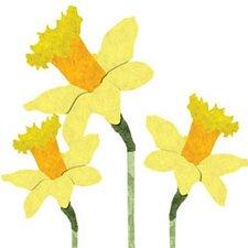 Daffodil Trio Wall Stickers