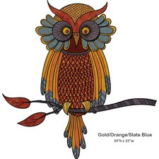 Wise Owl Wall Sticker