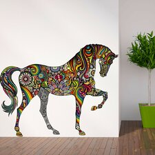A Horse of Many Colors Wall Sticker