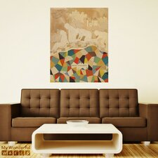 Castle Dangerous Collage Wall Decal