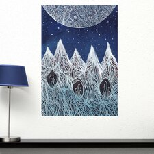Luna and the Blue Ridge Mountains Wall Decal