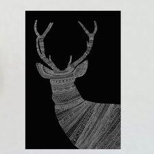 Ornate Deer Wall Decal