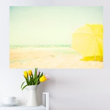 Beach Love by Ingrid Beddoes Wall Decal
