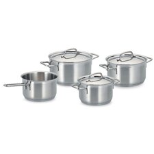 Gastronome 4-Piece Stainless Steel Cookware Set (Set of 4)