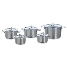 Gastronome 5-Piece Stainless Steel Cookware Set