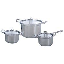 Q-Linair Master 3-Piece Cooking Pot Set