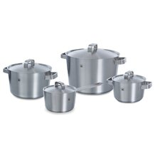 Conical Plus 4 Piece Stainless Steel Cookware Set