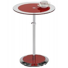 Adjustable Height End Table