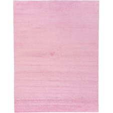 Solo Light Pink Area Rug